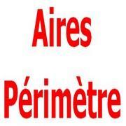 Exercices corrigés de maths 5éme - Aires et périmètres