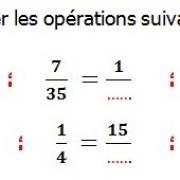 Exercices corrigés de maths 6éme - Fractions égalité et simplification