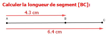 Exercices corrigés de maths 6éme - Addition et soustraction de nombres décimaux