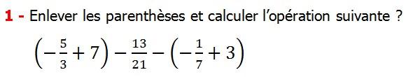 Exercices corriges cours les nombres rationnels la somme et la différence maths 4éme calcul la somme et la différence de deux nombres rationnels calcul plusieurs nombres rationnels calcul la somme et la différence des nombres fractionnaire calcul la somme et la différence des nombres relatifs en écriture décimaux réduire le dénominateur des nombres rationnels Enlever les parenthèses et calculer l'opération suivante